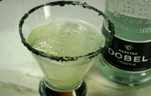 The Dobel Black Diamond Margarita.  Reprinted without permission!