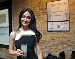 Emmy Rossum: I hope you didn't think I drank all these myself!
